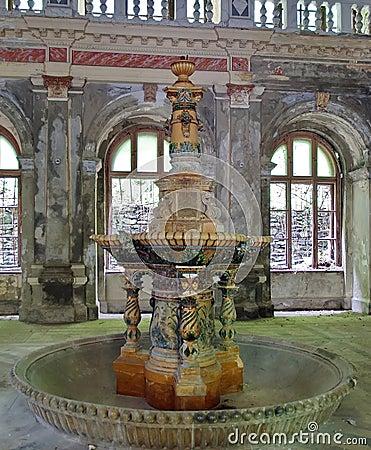 Fontaine du 19 me si cle baile herculane roumanie for Interieur 19eme siecle