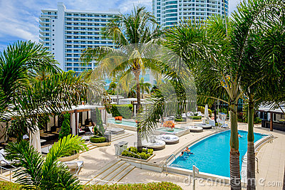 Fontainebleau Hotel Editorial Image