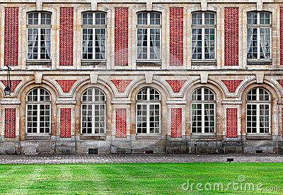 Fontainebleau Kasztel Obraz Editorial