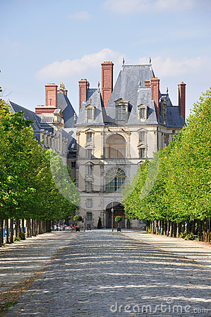 Fontainebleau Palace - The Porte Doree