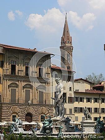 Fontana del Nettuno, Firenze ( Italia )