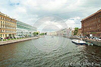 Fontanka canal