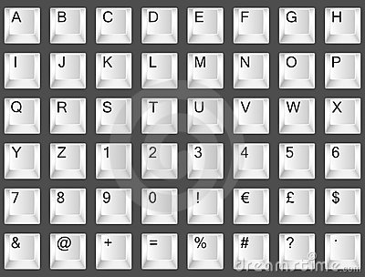 Fonte de clavier