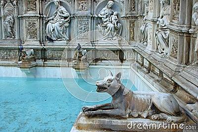 Fonte Gaia, Siena