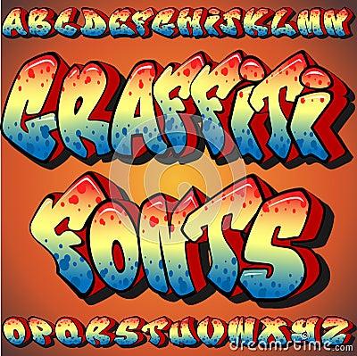 Fonti tipografiche dei graffiti
