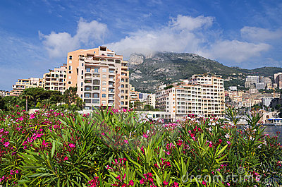 Fontvieille. Monaco