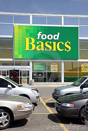 Food Basics Editorial Stock Photo