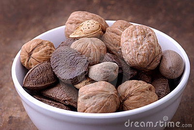 Food - Bowl of Nuts