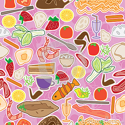 Food Choice Seamless Pattern_eps