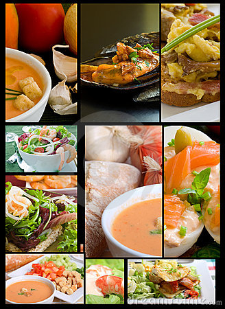 Free Food Collage Stock Photography - 16029732