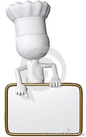 Food cook points restaurant menu sign
