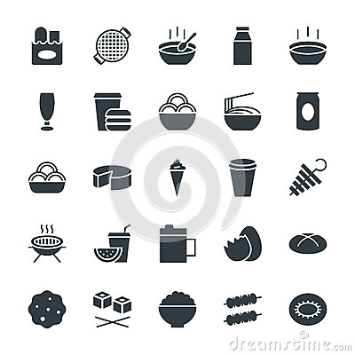 Free Food Cool Vector Icons 10 Royalty Free Stock Photography - 71531687
