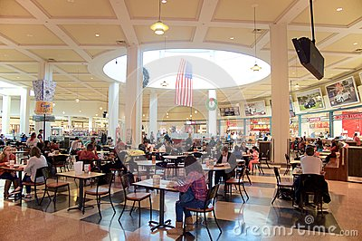 Wolfchase Galleria Memphis Food Court