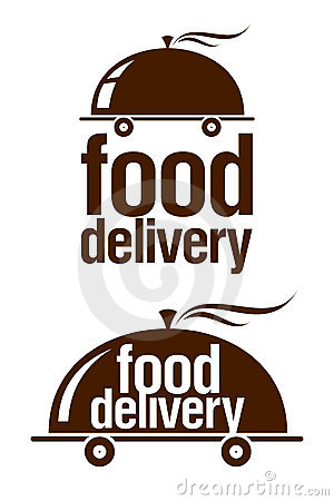 Free Food Delivery Signs. Stock Photography - 18066742