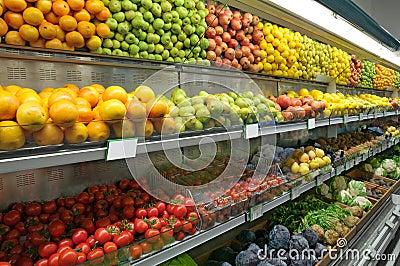 Food Department in Supermarket
