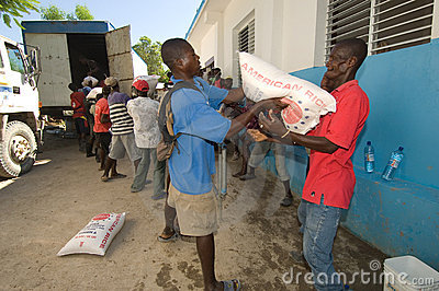 Food Distribution Editorial Image
