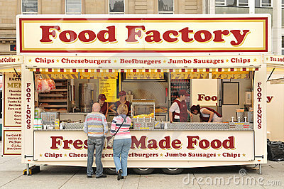Food Factory Editorial Image