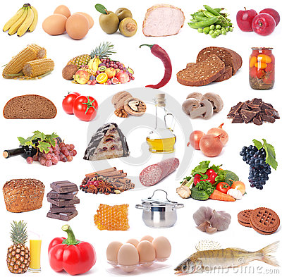 Free Food For All Tastes Stock Image - 30401951