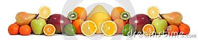Food fruit banner