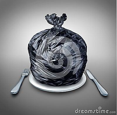 Free Food Garbage Royalty Free Stock Photo - 37690305