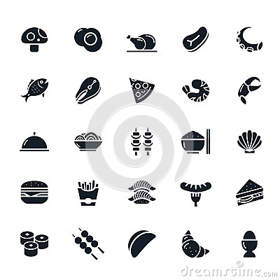 Free Food Icon Royalty Free Stock Image - 47579826
