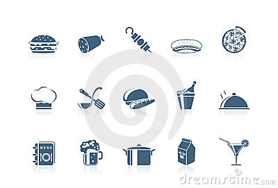 Food icons 1 | piccolo series