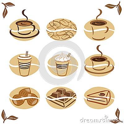 Food icons: Coffee