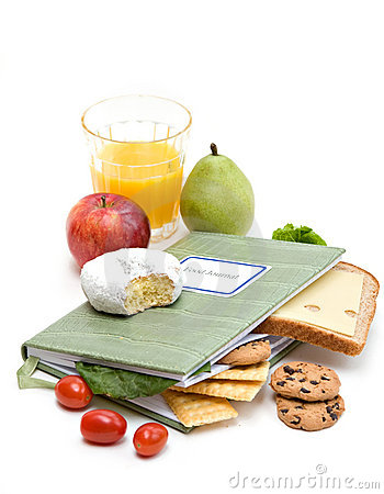 Free Food Journal Diary Stock Photos - 7744793