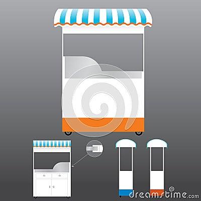Food Kiosk Template