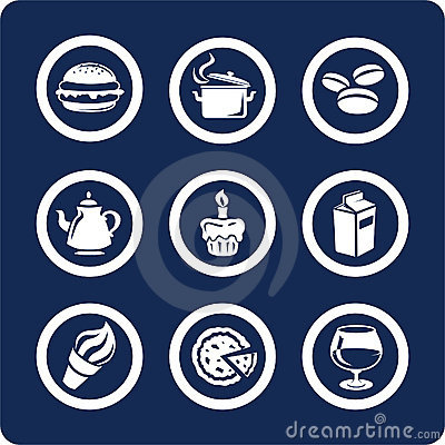 Food and Kitchen icons (set 9, part 1)