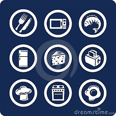 Food and Kitchen icons (set 9, part 2)