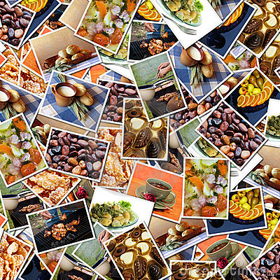 Food photos background