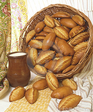 Food, Pies, Milk jug with Milk, Slavonic Kitchen