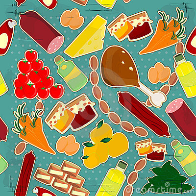 Food seamless texture