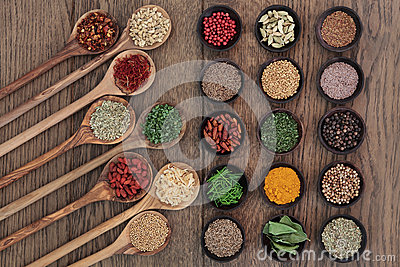 Food Seasoning Stock Photo