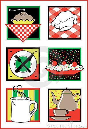 Food Service Icons/Logos