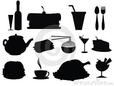 Food Silhouette