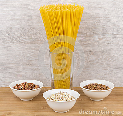 Free Food Source Of Slow Carbs On Table Royalty Free Stock Photo - 70524195