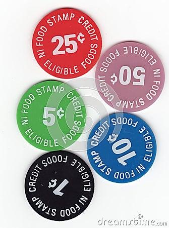 Food Stamp Tokens
