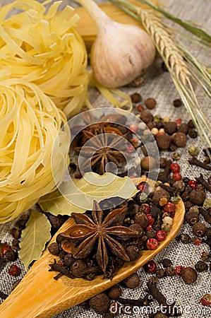 Food still life close-up