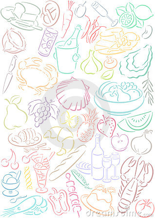 Free Food Symbols Royalty Free Stock Photography - 5983857