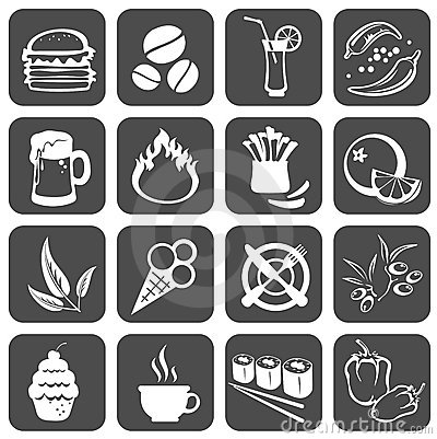Free Food Symbols Stock Images - 7710144