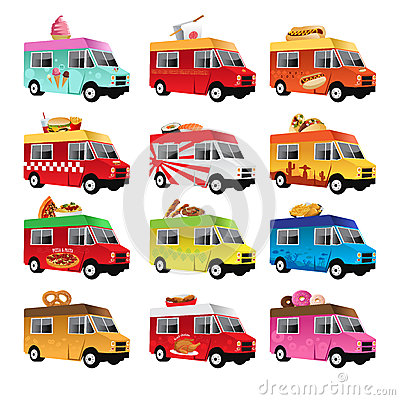 Free Food Truck Stock Photo - 32207660