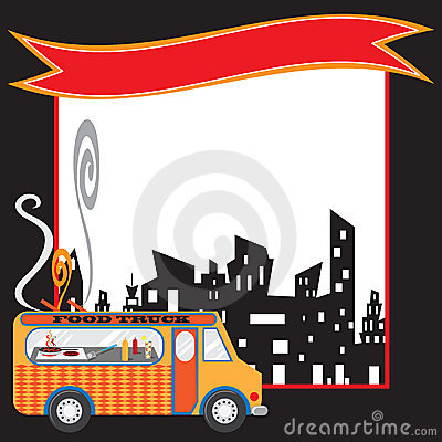 Food Truck Poster and banner