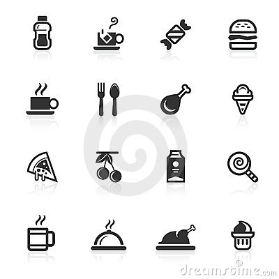 Foods & Beverages Icons - minimo series