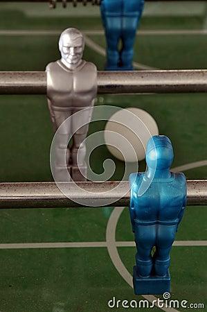 Foosball - table soccer detail