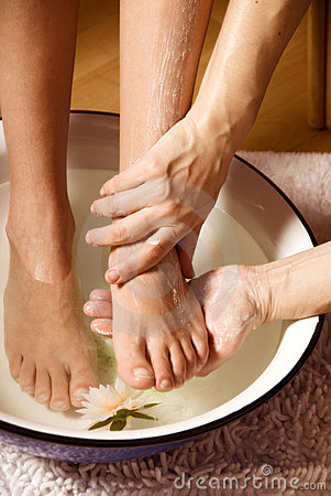 Free Foot Massage Royalty Free Stock Images - 1835299