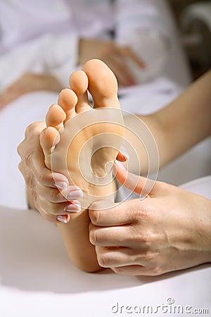 Free Foot Massage Stock Image - 2285091