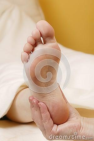 Free Foot Massage1 Royalty Free Stock Photo - 843725
