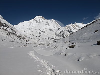 Foot-path to the Annapurna Base Camp